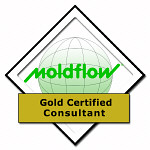 Click to view Moldflow Gold Certified Consulting Partner Certificate, Mpi Filling, Cooling, Warpage Analysis.