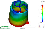 Click to view Moldflow Results - Kettle Fill Pattern